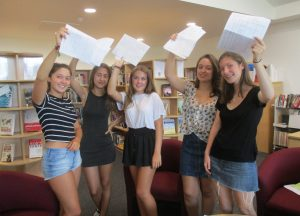 GCSE Top Performers - papers in the air
